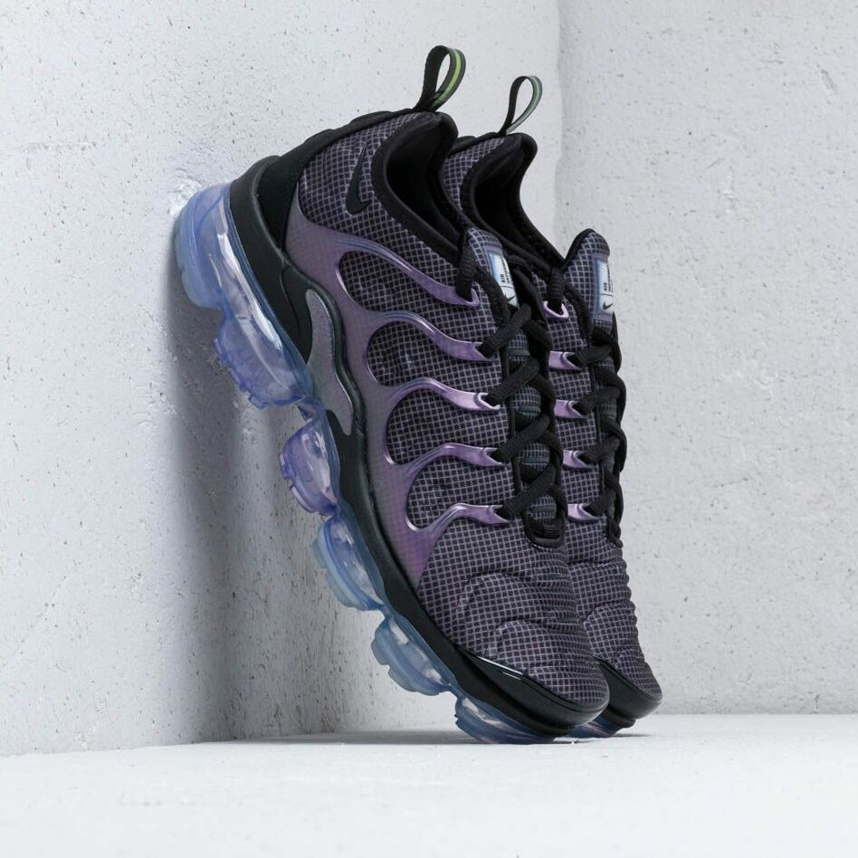 Nike Air Vapormax Plus Black/ Black-Dark Grey-Aluminum EUR 45