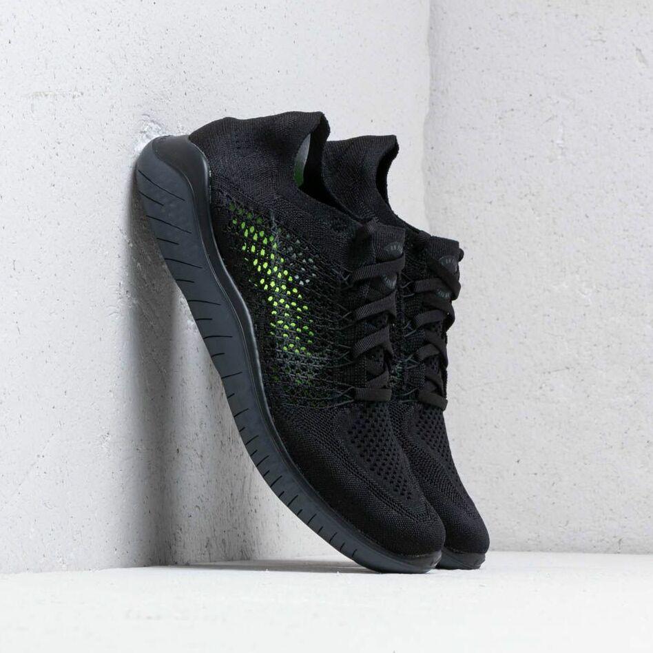 Nike Free Rn Flyknit 2018 Black/ Anthracite EUR 44