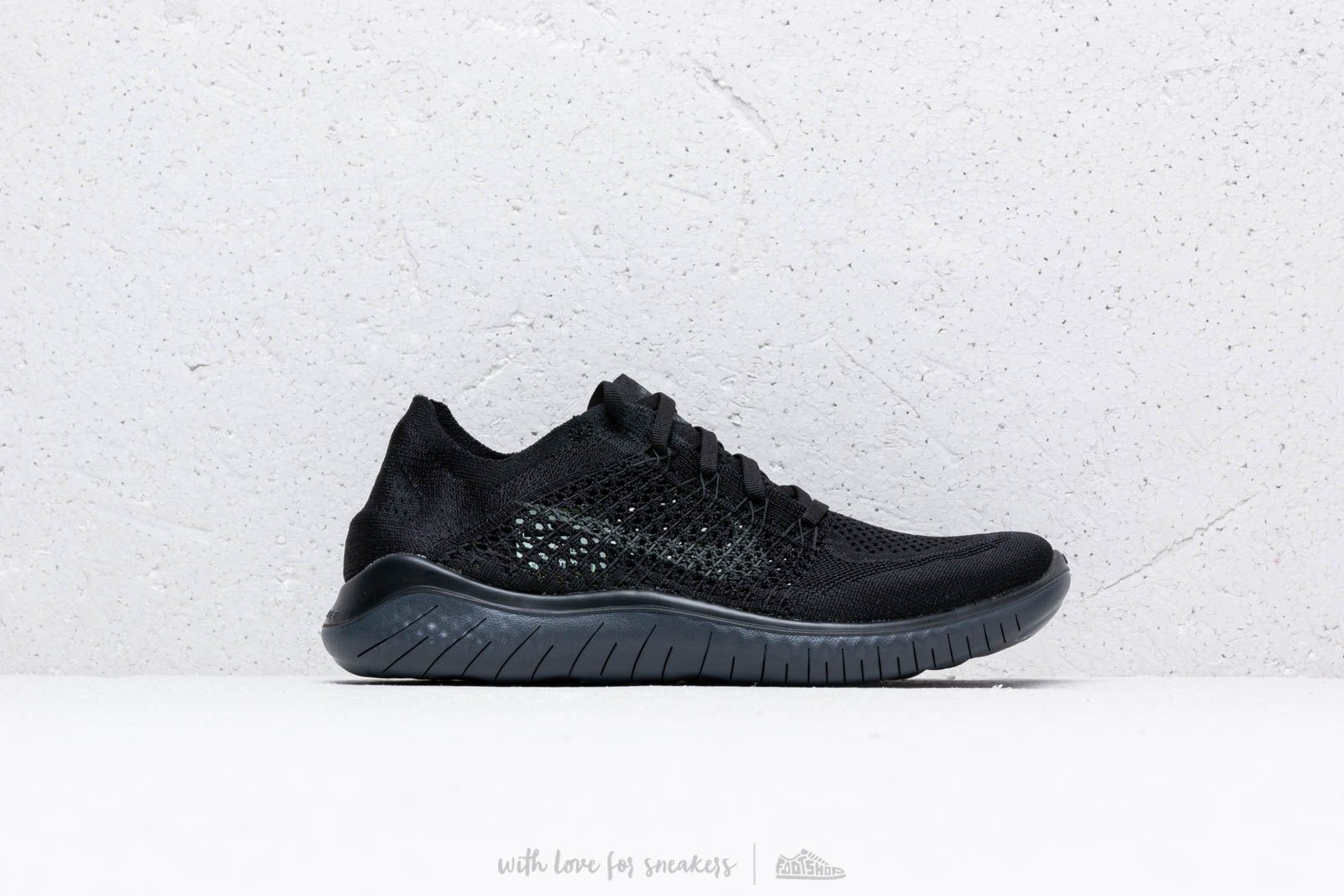 7704e8e91a6 Nike Free Rn Flyknit 2018 Black  Anthracite at a great price 121 € buy at