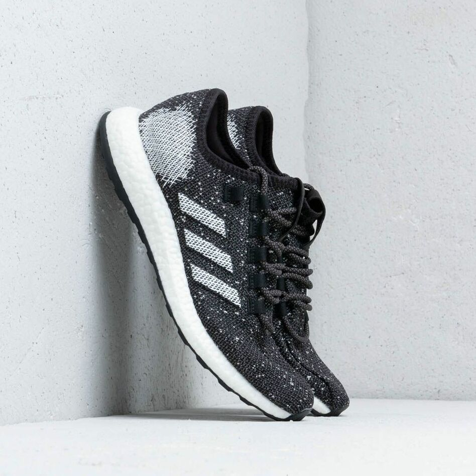 adidas Pureboost Core Black/ Cloud White/ Raw White