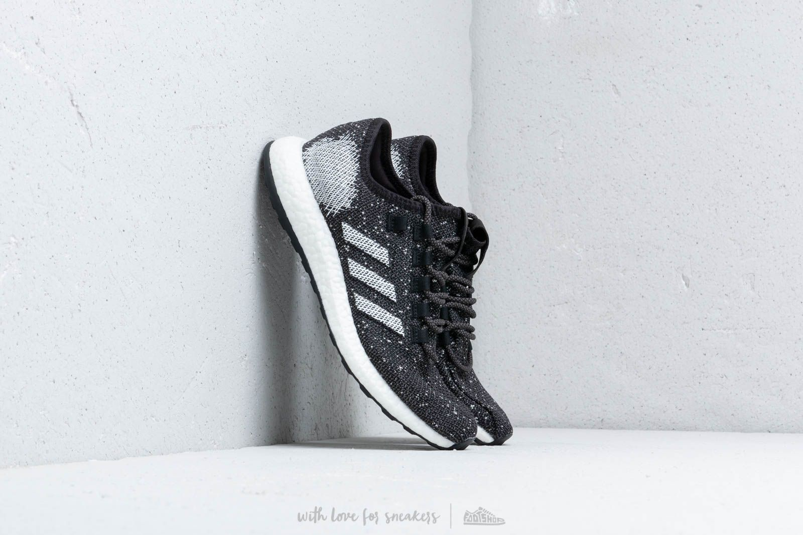 dc0ddd6ac20 adidas Pureboost Core Black  Cloud White  Raw White at a great price 136 €