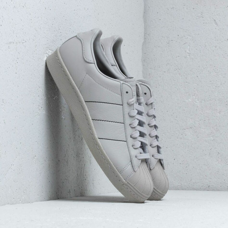 adidas Superstar 80s Clear Granite/ Clear Granite/ Clear Granite