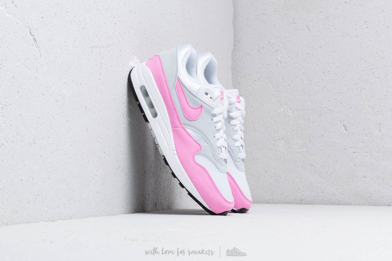 57b0a89ee Nike W Air Max 1 Essential White/ Psychic Pink at a great price 128 €