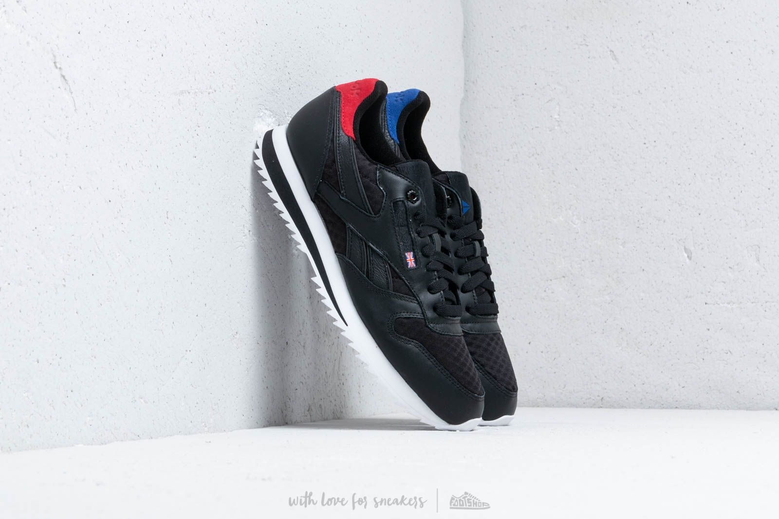 Reebok Classic Leather HC Black Excellent Red Team Dark Royal White | Footshop