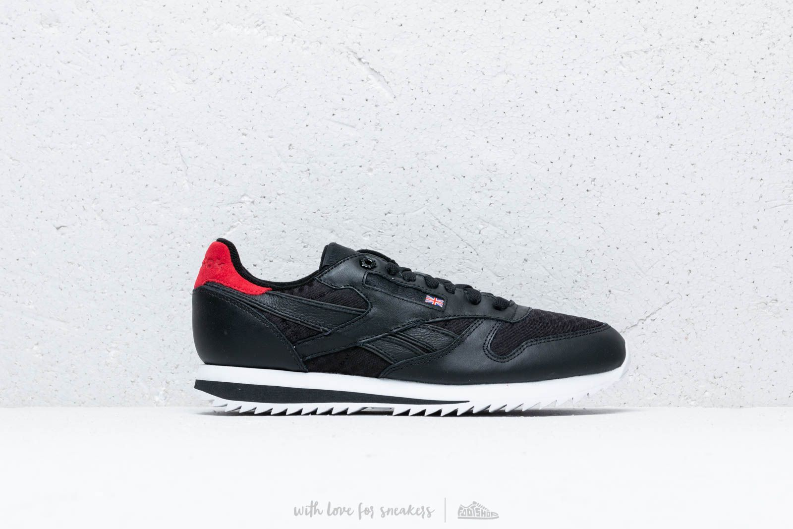 Reebok Classic Leather HC Black  Excellent Red  Team Dark Royal  White at a ac0aee8f3