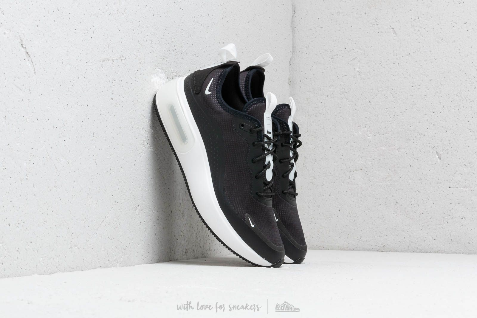 new style e296c 7aa4b Nike W Air Max Dia Black  Summit White-Summit White at a great price
