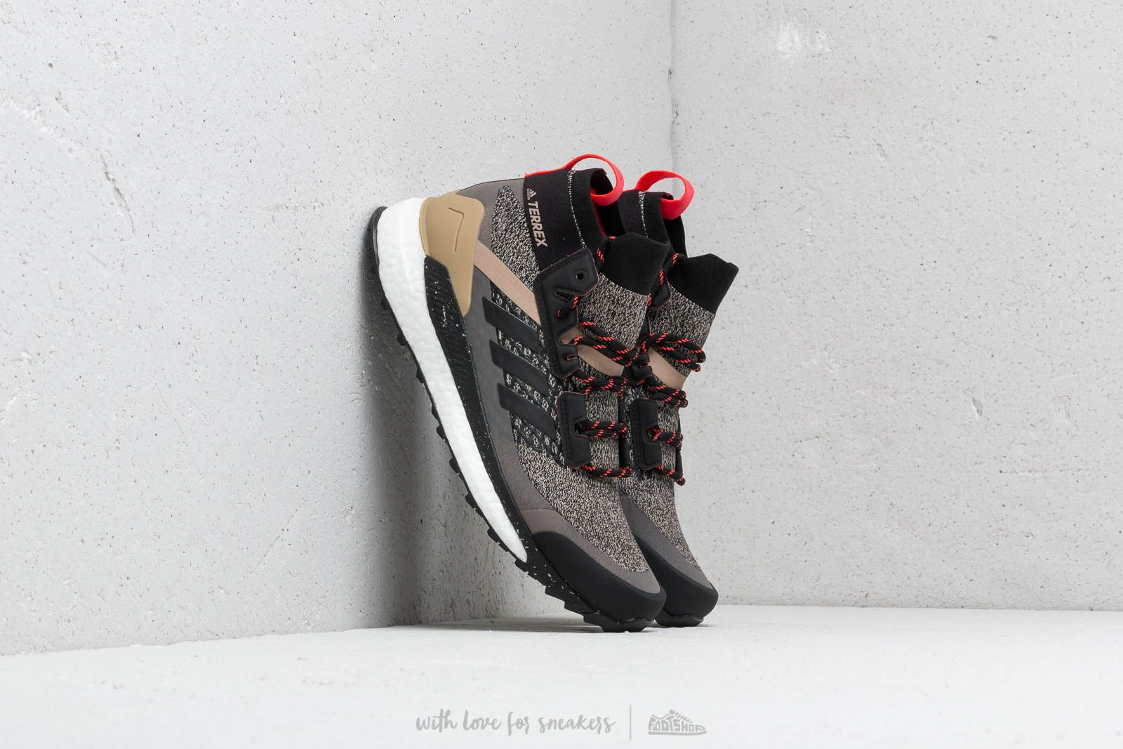 133d77daf adidas Consortium Terrex Free Hiker Core Black  Core Black  Shock Red at a  great