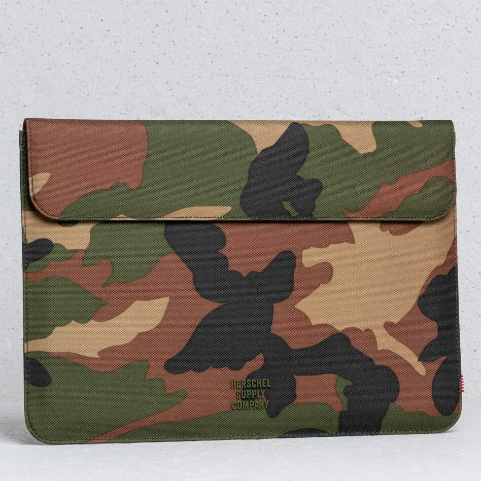 Herschel Supply Co Spokane Sleeve Woodland Camo