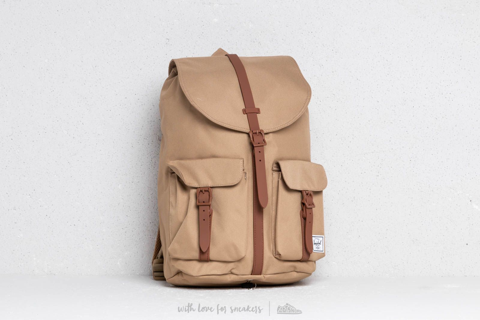 0e69a0d936a Dawson Backpack Kelp  Saddle Brown at a great price  95 buy