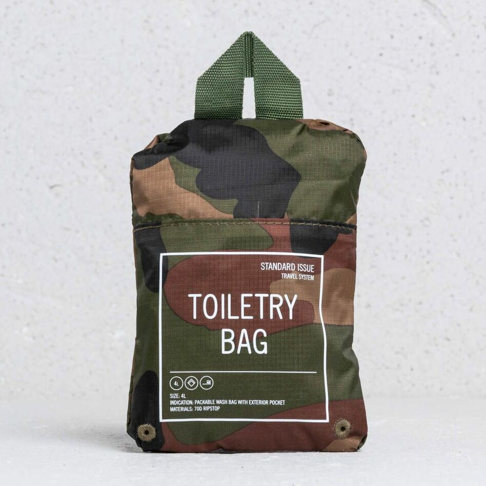 Herschel Supply Co Toiletry Bag Woodland Camo