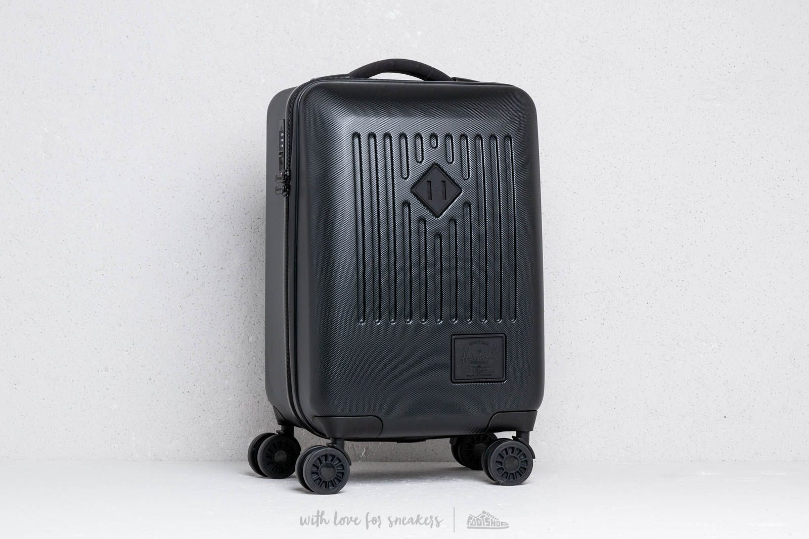 Herschel Supply Co. Carry-On Trade Luggage Black