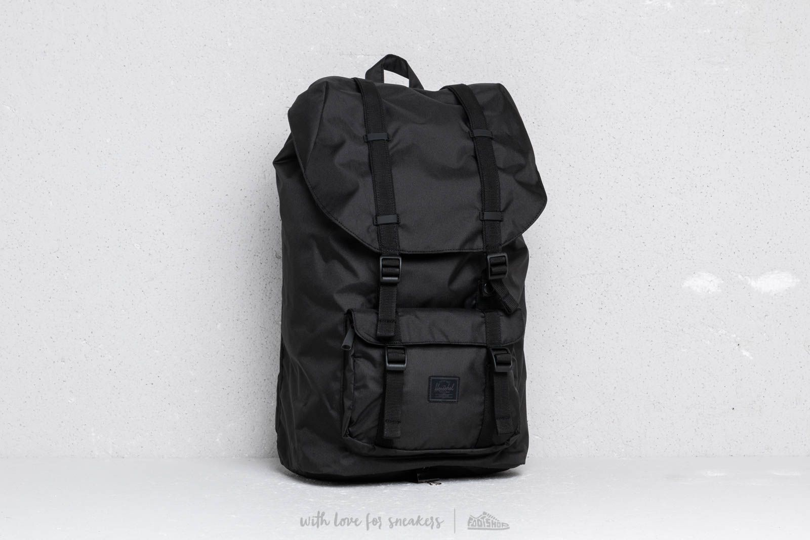 922e73248ec Herschel Supply Co. Little America Backpack Black at a great price  123 buy  at Footshop