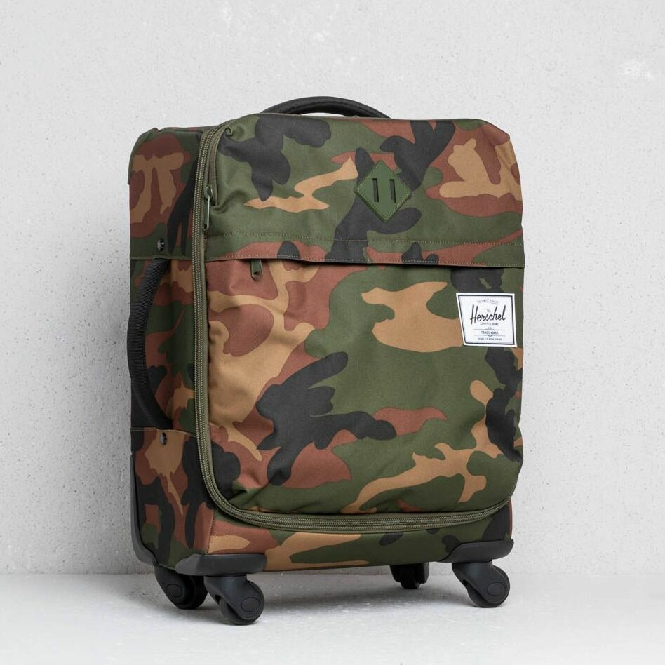 Herschel Supply Co CarryOn Highland Luggage Woodland Camo