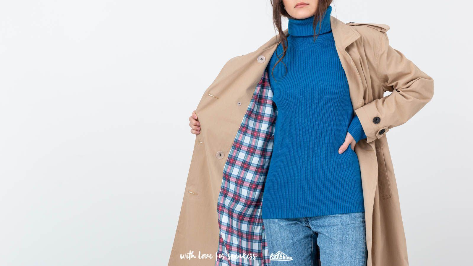 Levi's® RedTab Kate Trench Coat Khaki   Footshop