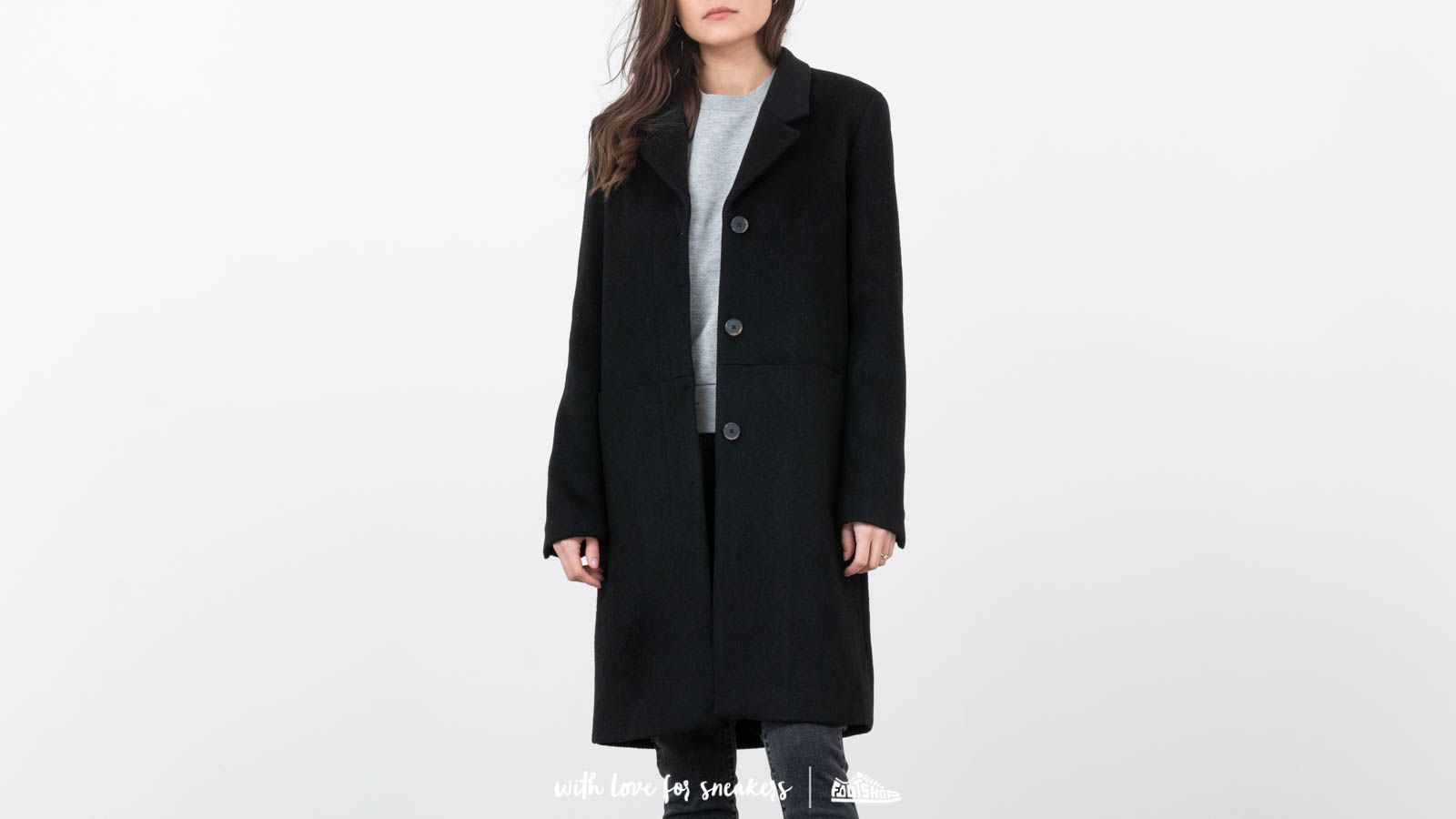 SELECTED Boa Wool Coat Black at a great price $82 buy at Footshop