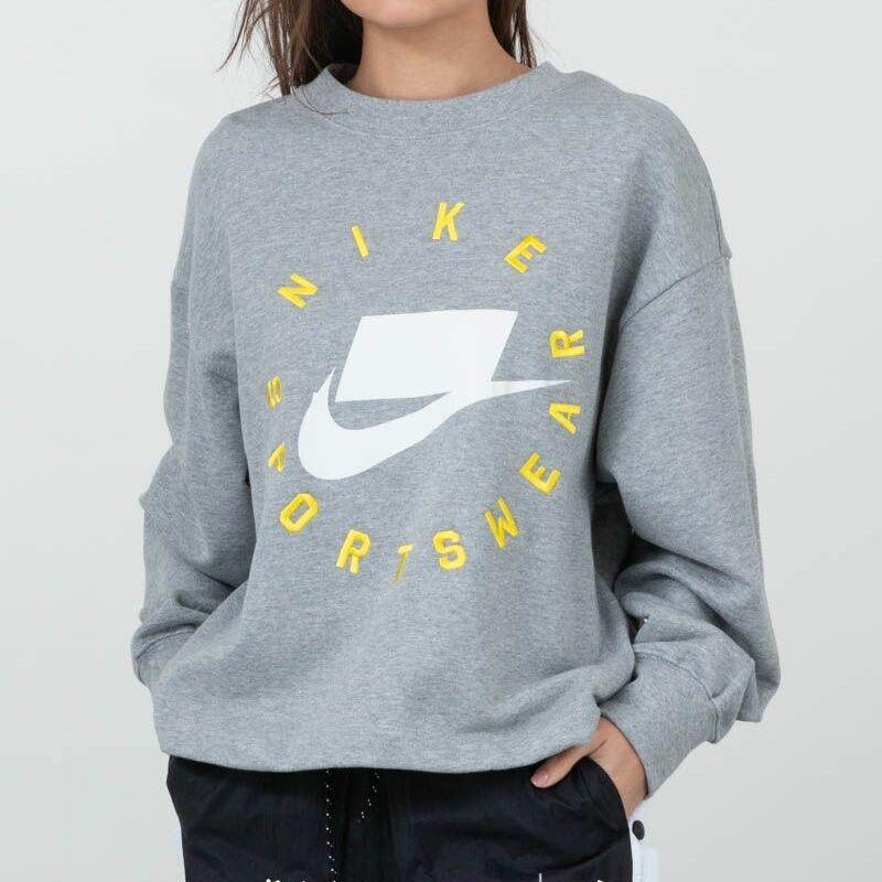Nike Sportswear Court Crewneck Grey, Gray