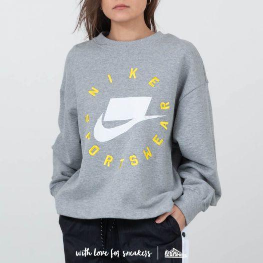 32ad70e9 Nike Sportswear Rebel Crewneck Burnt Sienna   Footshop