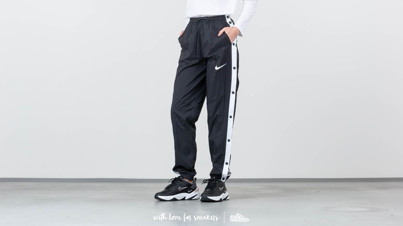 c2d9f482ac9d Nike Sportswear Windrunner Pants Black  White