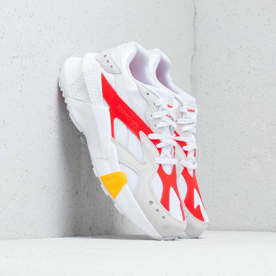 Reebok x Gigi Hadid Aztrek Double 93 White/ True Grey/ Red/ Gold EUR 38.5