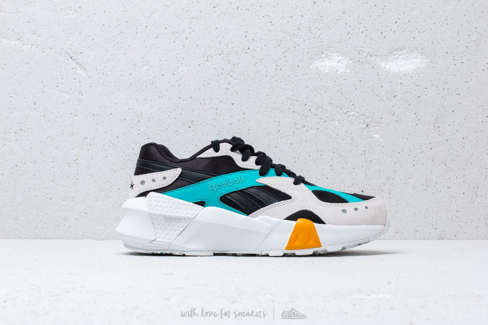 402a9daa4cc Reebok x Gigi Hadid Aztrek Double 93 Black  Blue  Grey  Gold at a