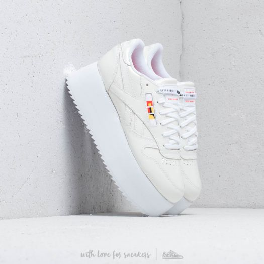 Reebok x Gigi Hadid Classic Leather Triple Platform White