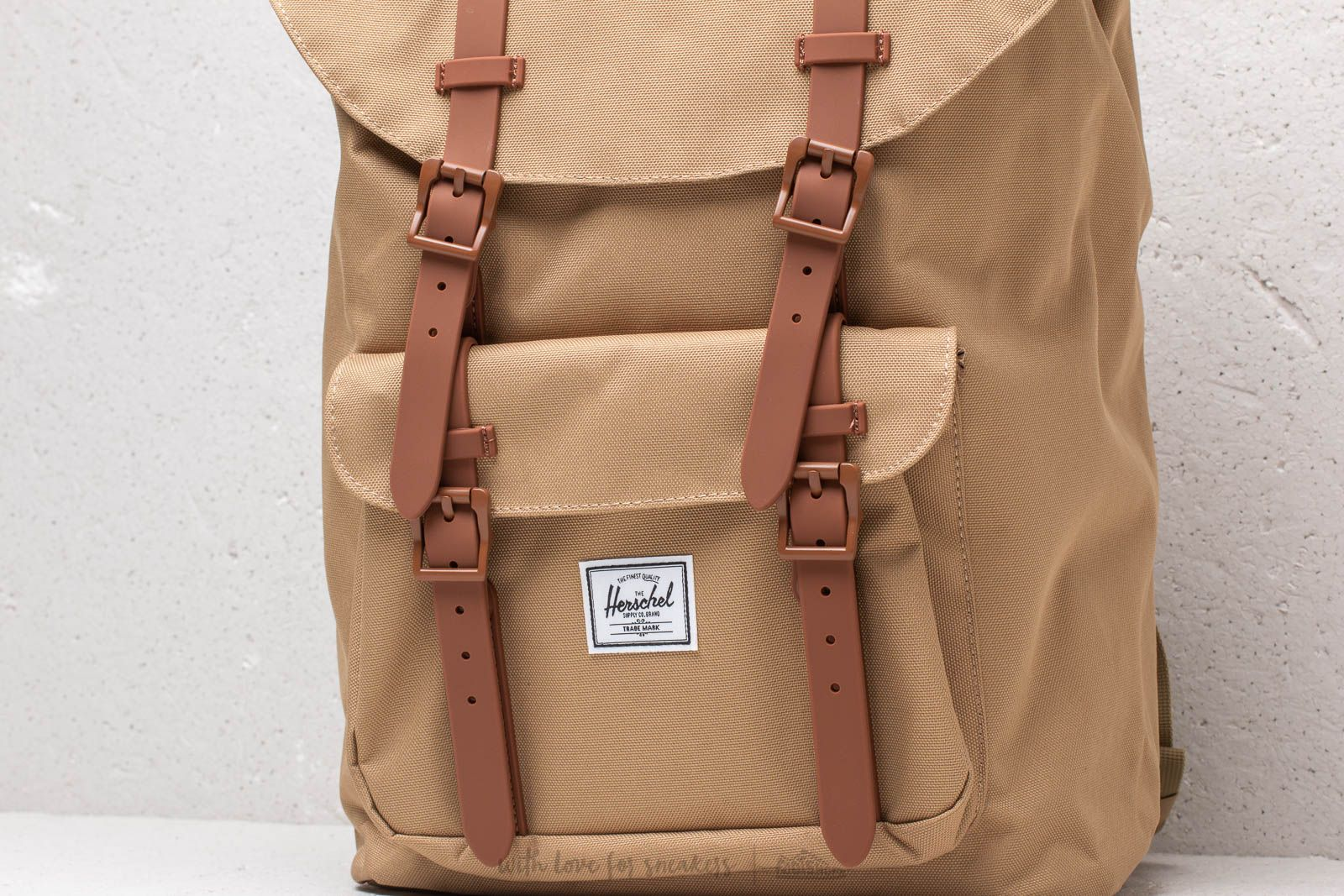 Herschel Supply Co. Little America Backpack Kelp at a great price  123 buy  at Footshop 918b244642