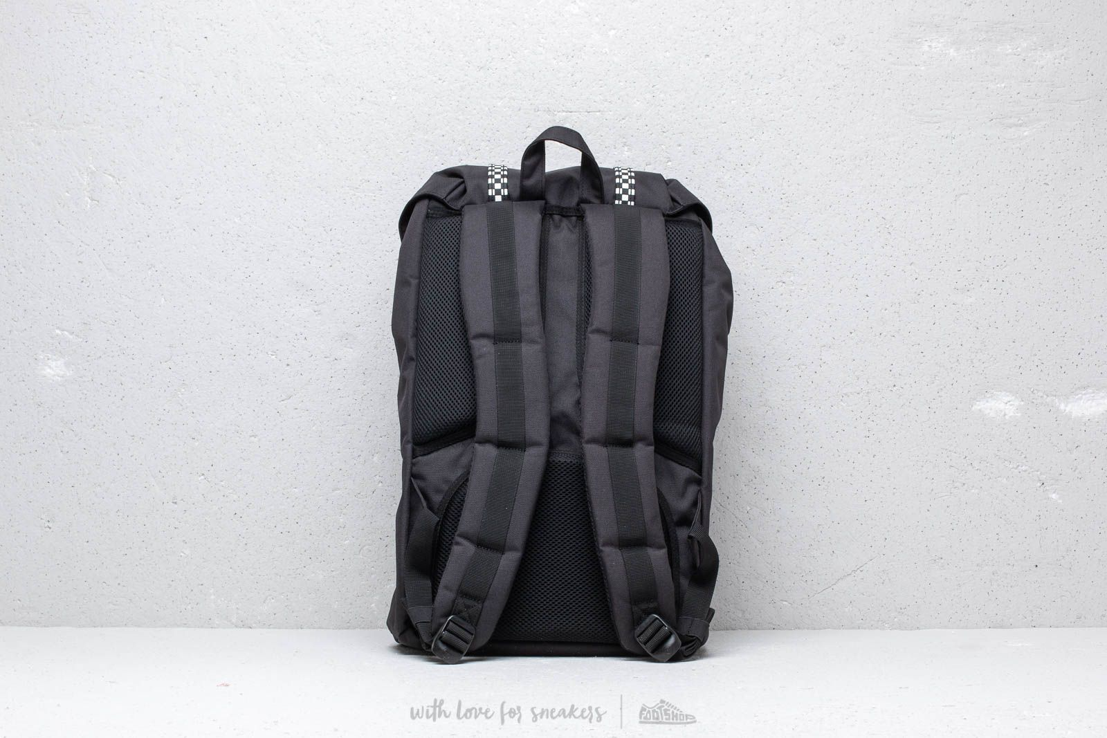 73b10d499c9db7 Herschel Supply Co. Little America Backpack Black/ Checkerboard at a great  price $123 buy