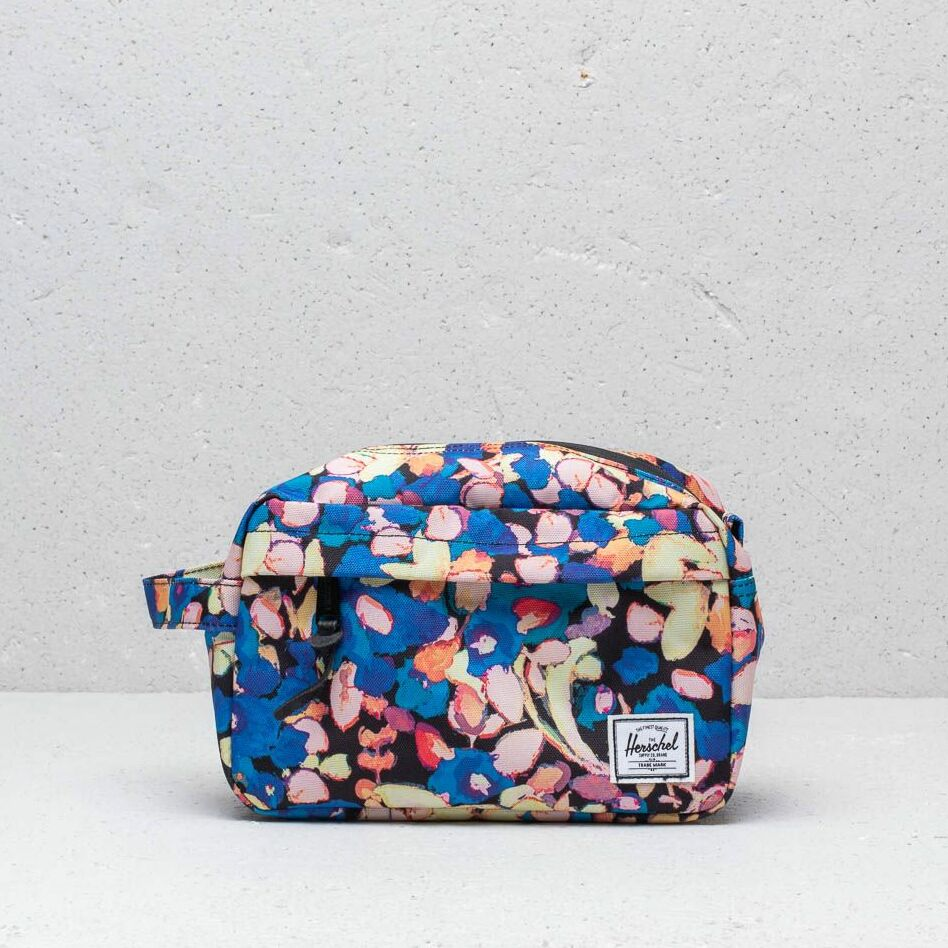 Herschel Supply Co Chapter Travel Kit Painted Floral