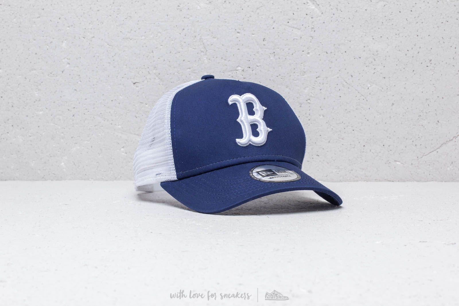 New Era A Frame MLB League Essential Boston Red Sox Cap