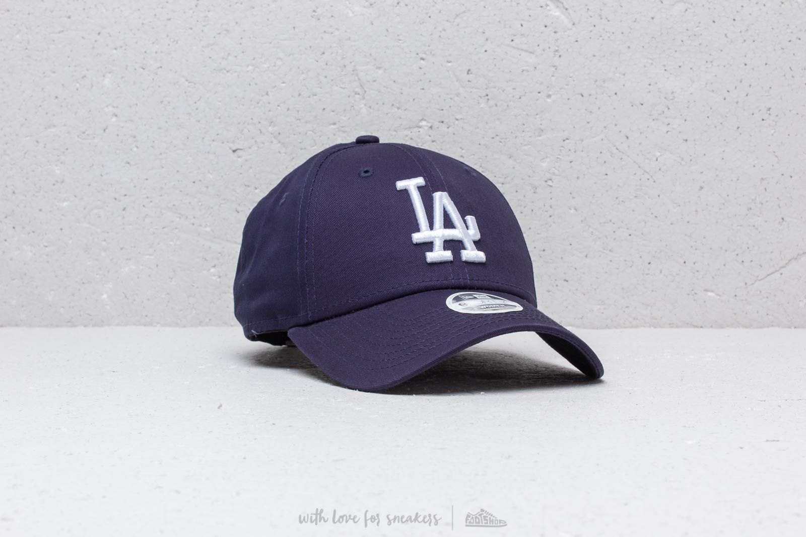 426a70c3e76 New Era 9Forty Women MLB League Essential Los Angeles Dodgers Navy  White  at a great