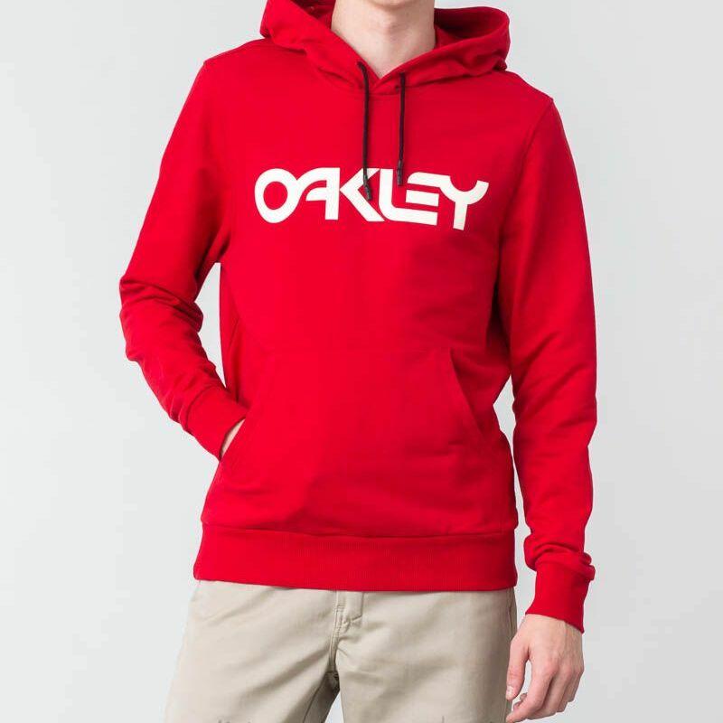 Oakley Pullover Hoodie Samba Red