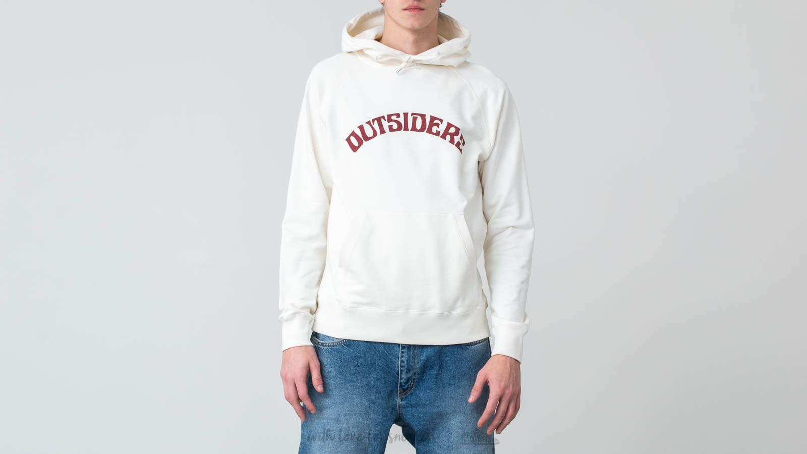 WOOD WOOD Fred Outsiders Popover Hoodie