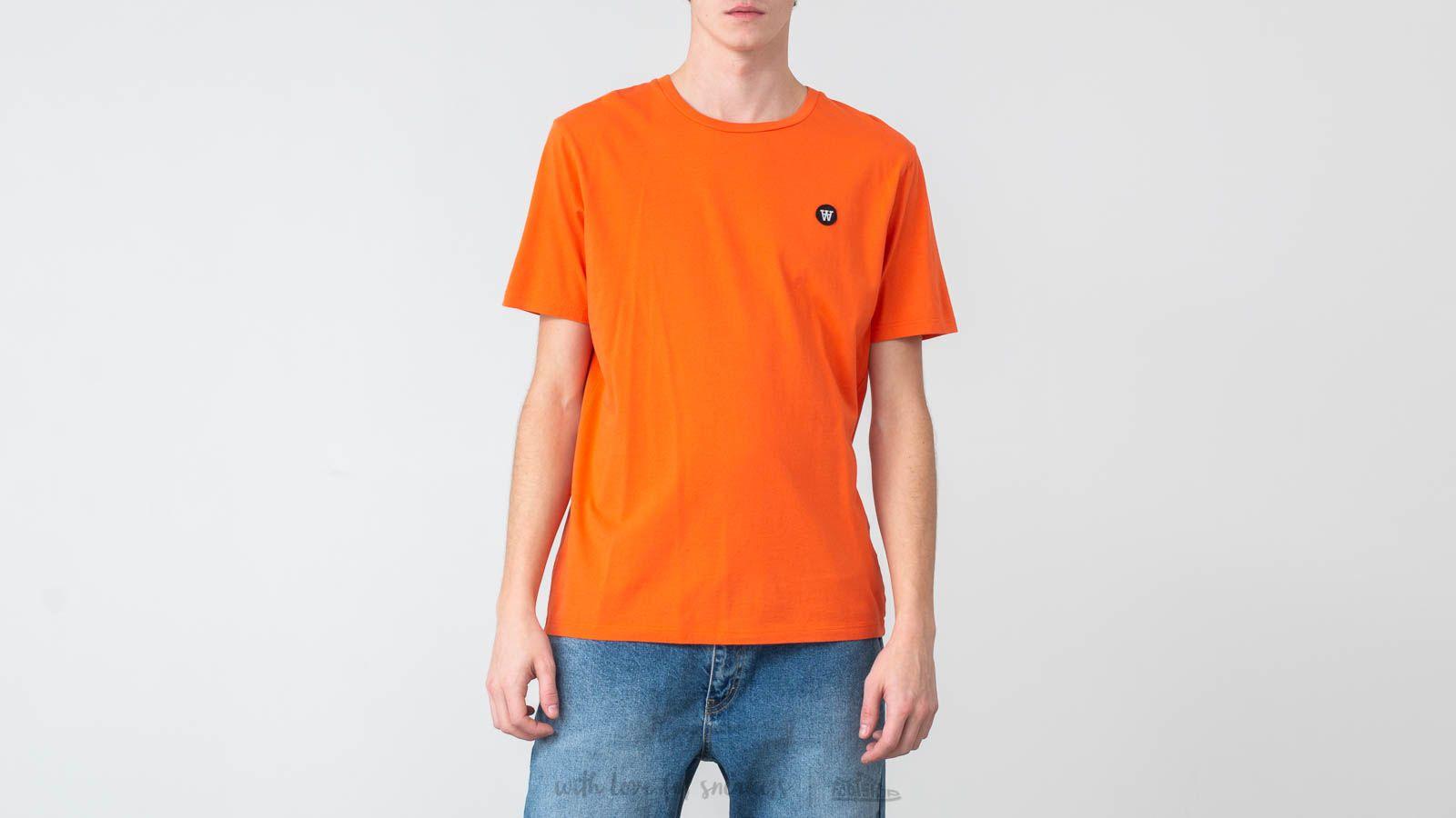 T-Shirts WOOD WOOD Ace Tee Orange