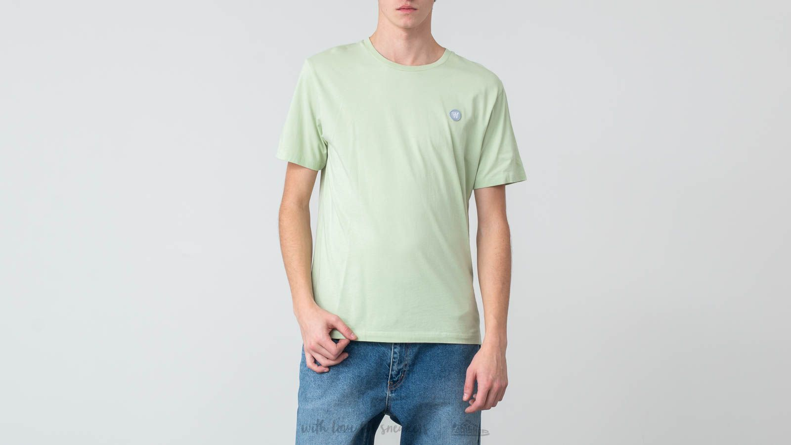 Magliette WOOD WOOD Ace Tee Mint