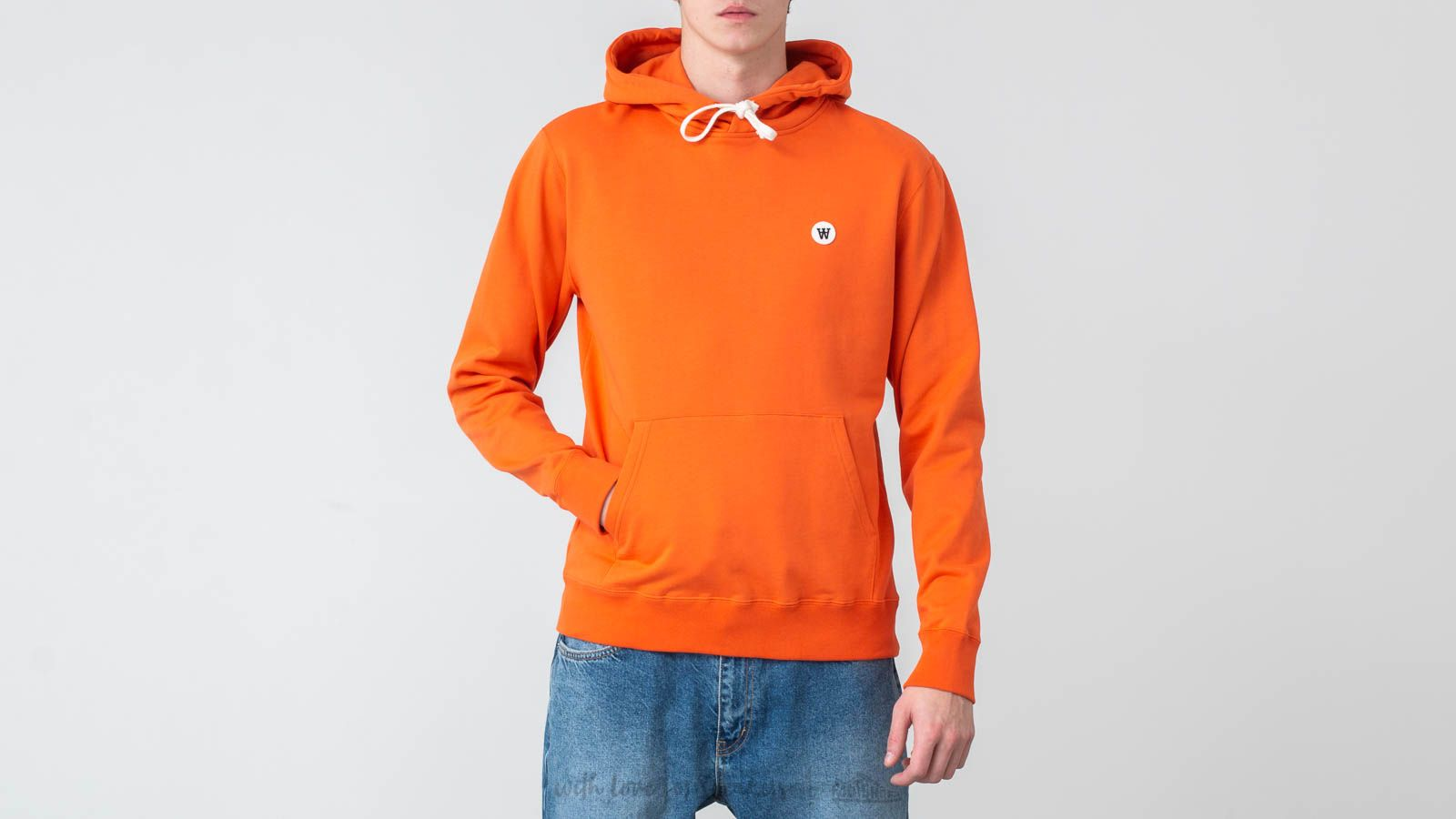 Толстовки і светри WOOD WOOD Ian Hoodie Orange