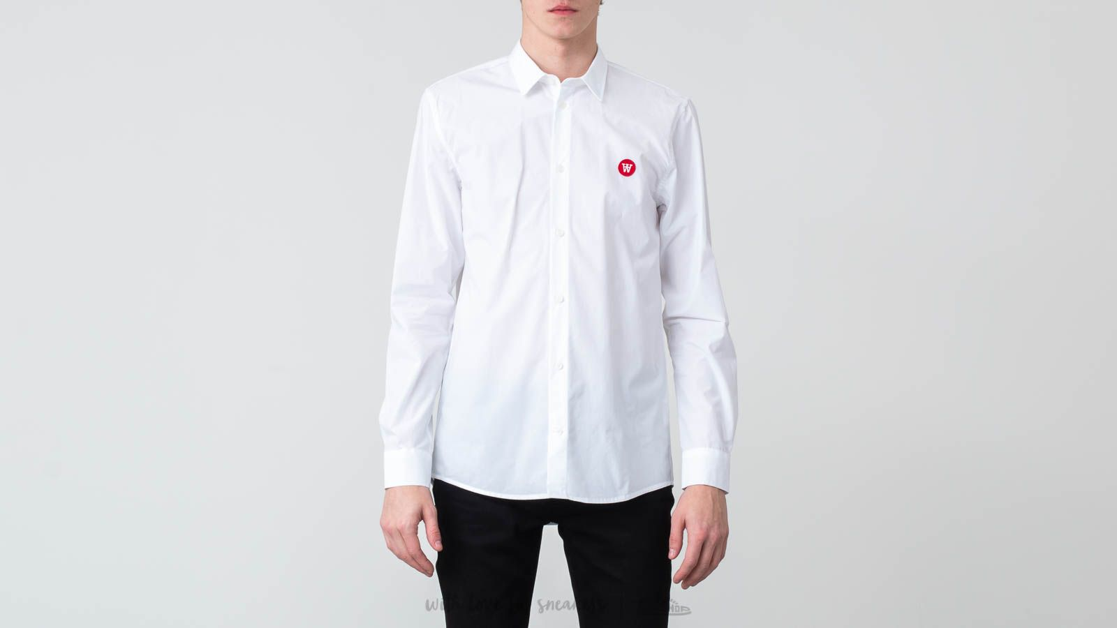 Košile WOOD WOOD Kay Shirt Bright White
