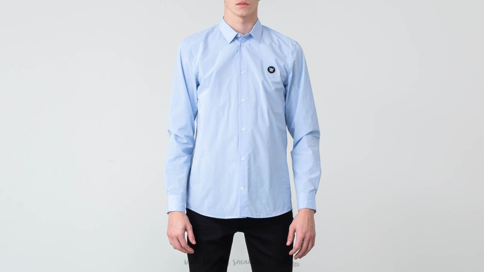 Camice WOOD WOOD Kay Shirt Light Blue