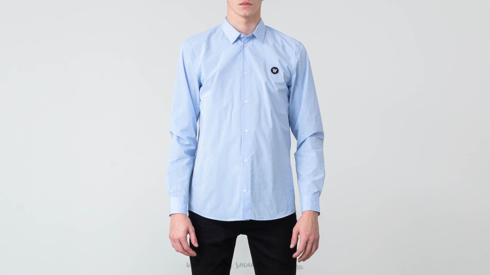 WOOD WOOD Kay Shirt Light Blue za skvelú cenu 125 € kúpite na Footshop.sk