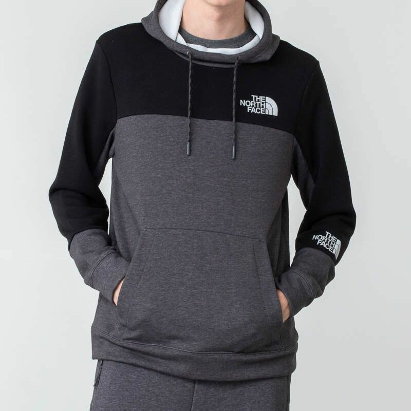 The North Face Lht Hoodie Meduim Grey Heather