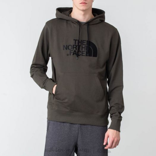 The North Face Drew Peak Pullover Hoodie New Taupe Green | Footshop