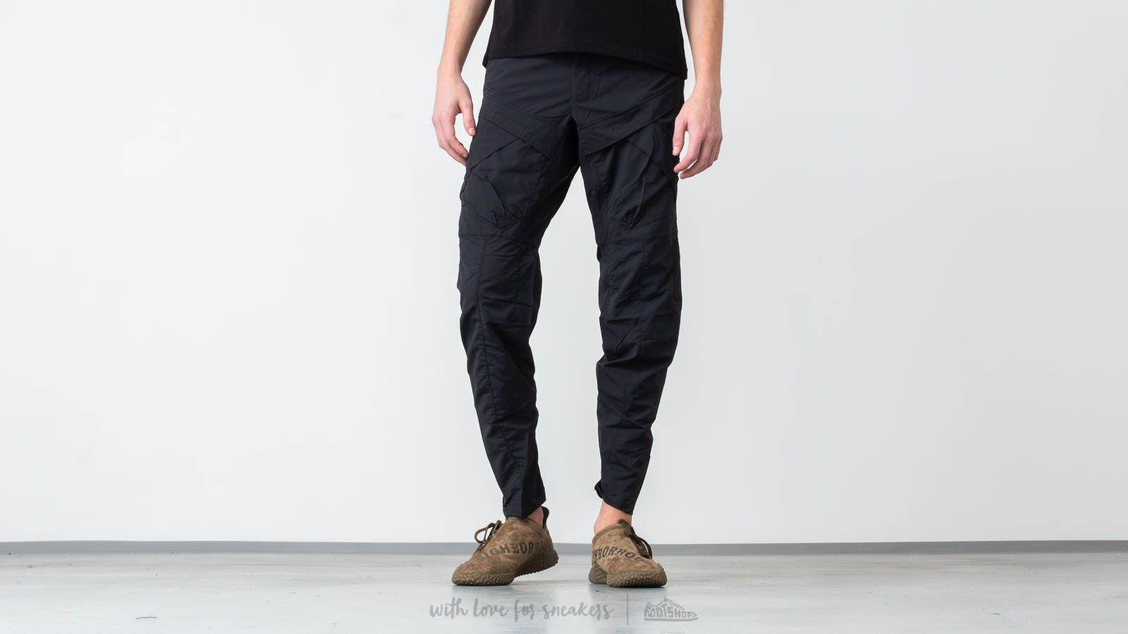 Riot Division 2 Pockets Pants Modified Black