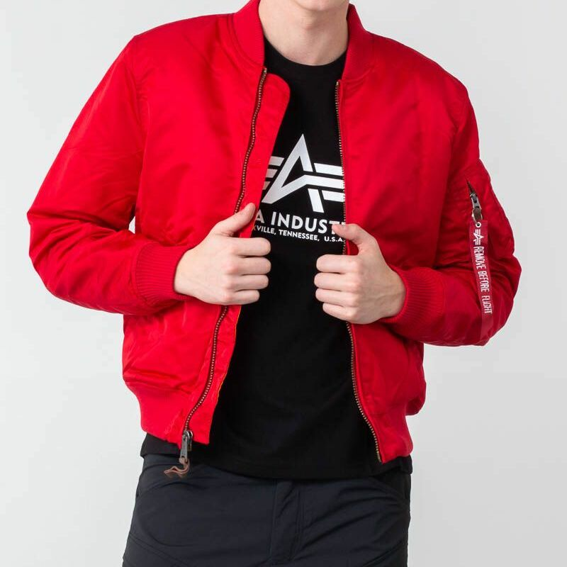 Alpha Industries MA1 VF 59 Speed Red