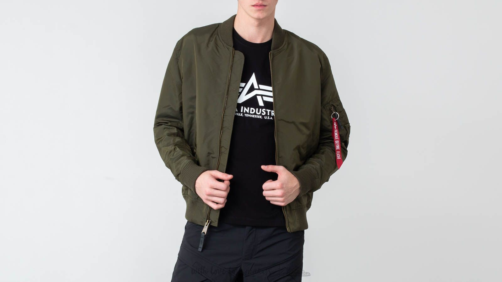 Alpha Industries MA-1 TT Dark Green at a great price $78 buy at Footshop