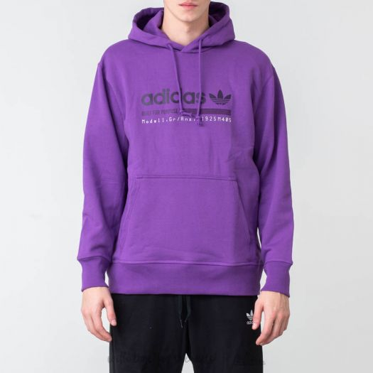 de ultramar Colectivo paso  Hoodies and sweatshirts adidas Kaval Graphic Hoodie Active Purple