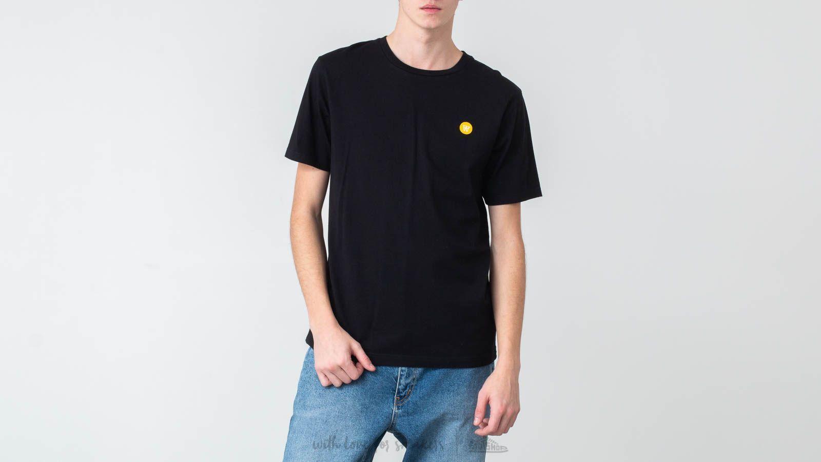 WOOD WOOD Ace T-Shirt Black za skvělou cenu 640 Kč koupíte na Footshop.cz