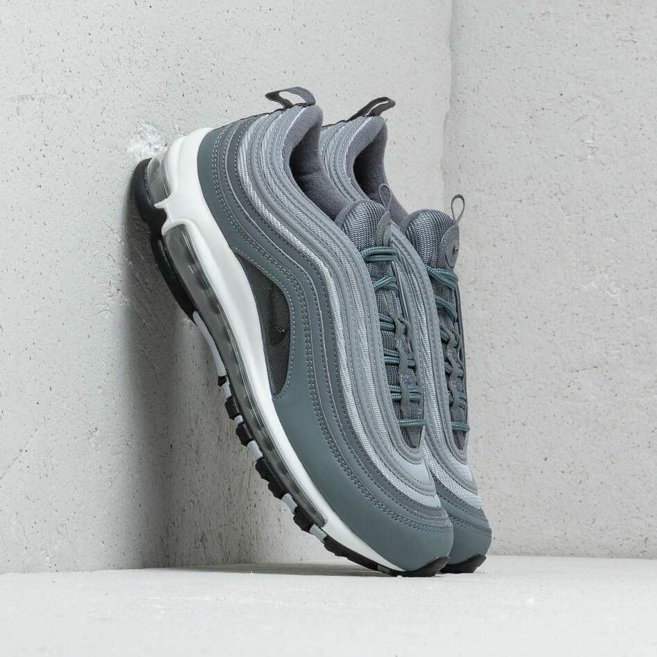 Nike Air Max 97 Essential Cool Grey/ Wolf Grey-Anthracite-White EUR 44