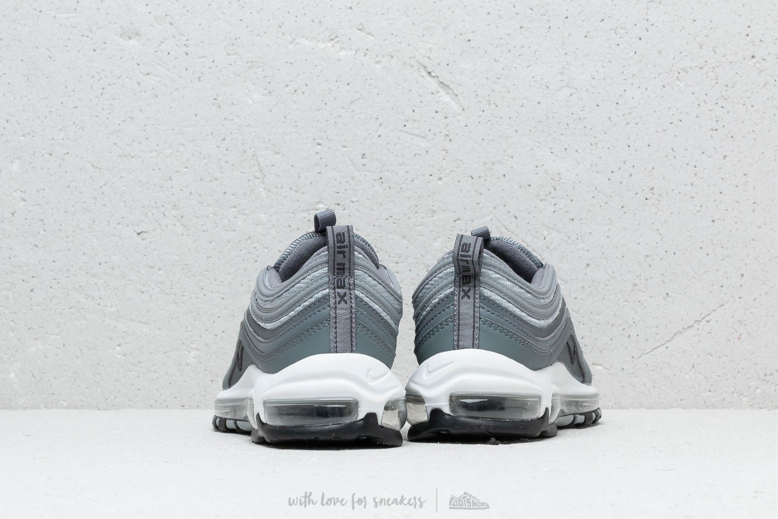 Nike Air Max 97 Essential Cool Grey Wolf Grey Anthracite White | Footshop