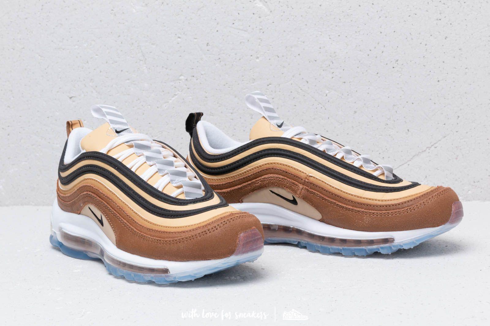 Air Max 97 Sneaker in Ale BrownBlack Elemental Gold