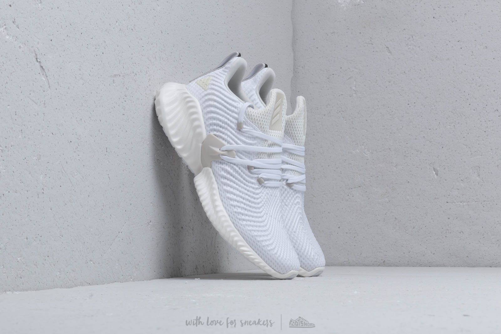 sale retailer b275e cc335 adidas Alphabounce Instinct M Off White  Raw White  Cloud White at a great  price