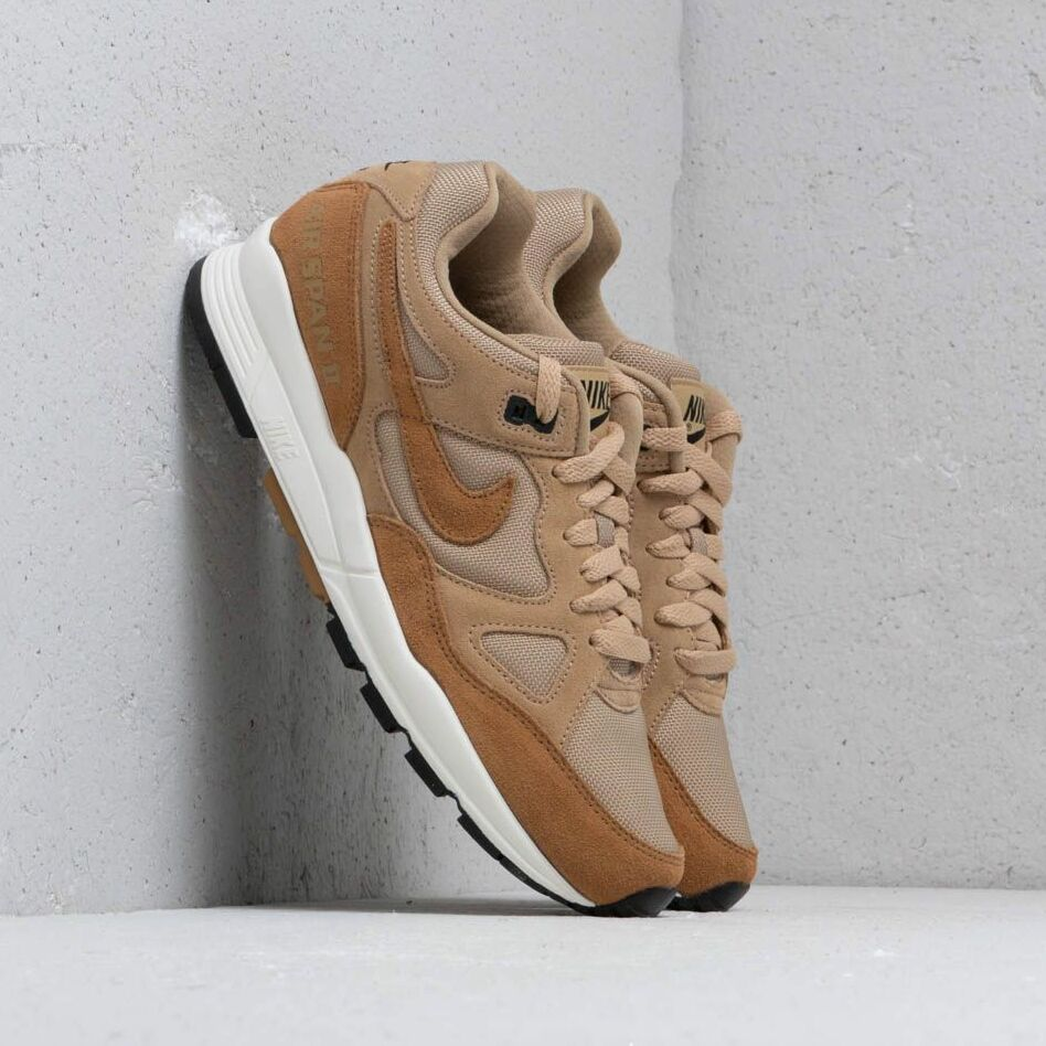 Nike Air Span II Se Sp19 Parachute Beige/ Golden Beige-Black EUR 43